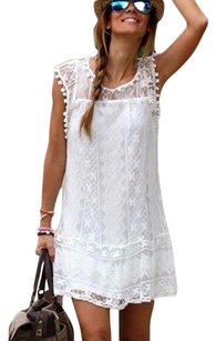 Zanzea short dress White on Tradesy