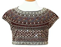 Zara Embellished Givenchy Sequin Beaded Crop Top Multi