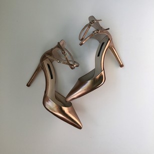 Zara Rosegold Pumps