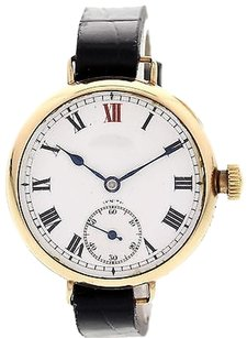 Zenith Ladies Vintage Zenith 9k Yellow Gold 2314419
